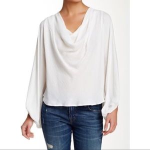 NWT Free People Cowling Around Blouse